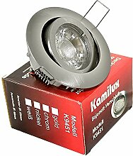 5 x LED Einbaustrahler Bajo 230V