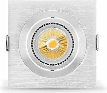 5 x LED Einbaustrahler Set von Ledox dimmbar inkl.