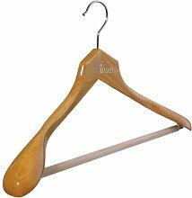5 x pieperconcept Kleiderbügel Privat mit Steg