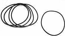 5x Wasser Filter Ersatz Gummi O Ring 145mm Dia 4mm dick