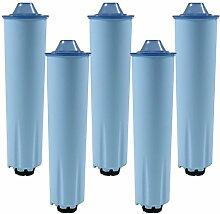 5 x Wasserfilter-Patrone für Kaffeevollautomaten
