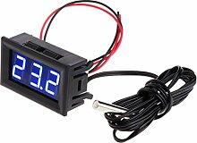 -50~110 ° C DC 12v Digital LED Thermometer Auto