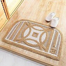 50 * 80cm Badmatte Tür Auflage Fuß Pad Tür Eingang Matratze Bad Matte ( farbe : T )