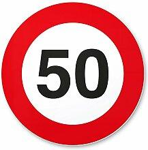50. Geburtstag Geschenk, PVC Schild -