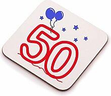 50. Geburtstag Untersetzer–Eine Großartige Geburtstag Geschenkidee für jeden 50YEAR OLD