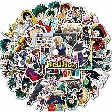 50 Japanische Anime My Hero College Aufkleber