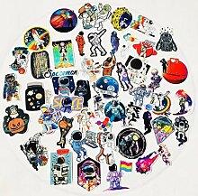 50 Kreative Astronauten, Gepäckaufkleber,