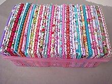 50/lot 20cm * 25cm 100% Baumwolle Stoff Nicht Wiederholen Design Fat Quarter Quilten Patchwork Stoffe für Tilda Puppe Reinigungstuch Textil