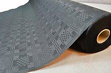 50 Meter Lang 100 Cm Breit Farbe: Schwarz
