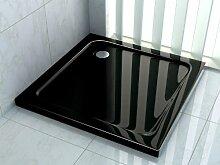 50 mm Duschtasse 120 x 120 cm (schwarz)
