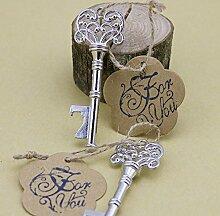 50-packed Schlüssel geformte Flaschenöffner