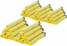 50 Rollen Gelber Sack, Gelbe Säcke 90 Liter HDPE