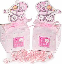 50 Stück Gastgeschenk Süßigkeiten Taufe