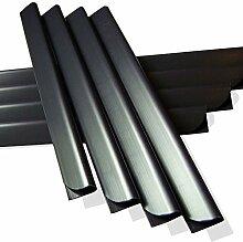 50 Stück PVC - Sichtschutzstreifen Klemmschienen