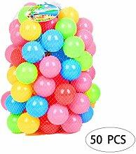 50 Stücke Sicher Nicht Toxische PE Spielen Bälle
