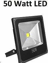 50 Watt LED Außenstrahler, Flutlicht, 120°
