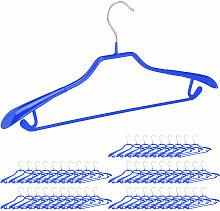 50 x Anzugbügel, breite Schulterauflage,