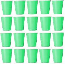 50 x Becher hellgrün Einwegbecher für