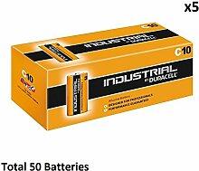 50 x C Duracell Industrial MN1400 LR14 Mezza