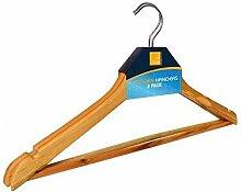 50 x Herausragende Qualität Holz Kleiderbügel -