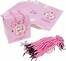 50 x Papier Süßigkeiten Schachtel Gastgeschenk