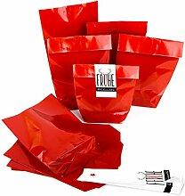 50 x WeihnachtsVerpackung Papiertüte Frohe