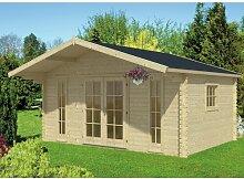 500 cm x 500 cm Gartenhaus Kristofer Garten Living