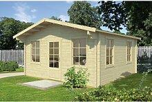 500 cm x 500 cm Gartenhaus Stults Garten Living
