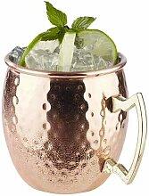 500 ml Becher Moscow Mule aus Edelstahl (Set of 4)