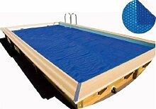 500 x 800 cm Schwimmbecken Pool Solarfolie Solarplane Poolheizung Poolabdeckung Abdeckung Folie