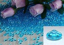 50004,5mm hellblau Diamant Scatter Hochzeit Dekoration Tisch Kristalle