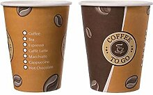 "5000 Stk. Kaffeebecher Topline, ""Coffee to"