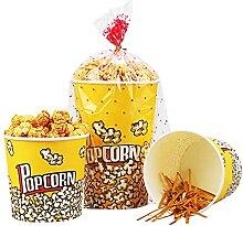 [500er Pack] Einweg-Popcorn-Eimer - 32 Unzen / 46