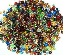 500g Glasperlen Mix Kit Glas Kinder Perlen zum