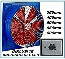 500mm Industrie Wandventilator und 500W