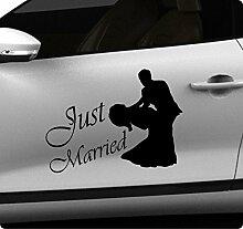 50cm Hochzeit Wedding Aufkleber Sticker