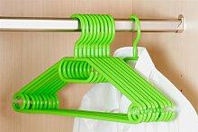 50er Pack Kleiderbügel aus Kunststoff, grün,  Breite 40cm, Kesper (17,50 EUR / Stück)