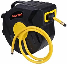 50ft X 3/8inch Retractable Auto Rewind Air Hose Reel Tools Compressor 300psi Garage for Auto Repair by Yescom