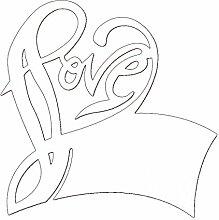 50pcs Liebe Herz Cup Karte Weinglas Karte Schalen für Hochzeit Tisch Papier Party Tischkarten Dekoration (weiß)