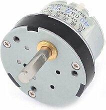 50RPM Output Speed reduziert 5mm Schaft Dia Getriebe Geared Motor 12VDC