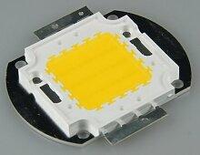 50W Hochleistungs-LED ''EPISTAR'', 4000 Lumen, warmweiß / 3000K