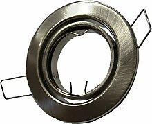 50x E4405-5 Metall Einbaustrahler Einbauspot in