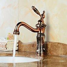 5151buyworld-, Jade-Waschbecken mit Wasserhahn,