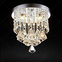 5151BuyWorld Lampe Kristall LED Moderne Decke