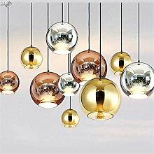 5151BuyWorld Lampe Moderne Galvani Silber Goldene