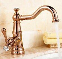 5151buyworld mit Messing Wasserhahn, Gold, mit
