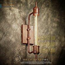 5151BuyWorld Qualitäts-Glas-Dampf-Wand-Lampe Rohr
