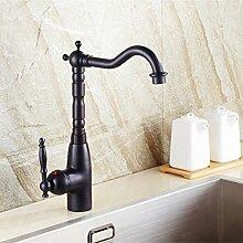 5151buyworld schwarz hochwertig Wasserhahn Bad