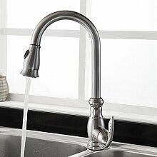 5151buyworld Top Qualität Wasserhahn gebürstet