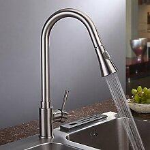 5151buyworld Top Qualität Wasserhahn gebürstetes